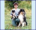 Sveta, sheltie White Coastal's Little Est-Fin and Zinnia's Salt'n Pepa