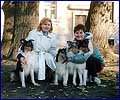 Marina Smirnova, Sveta, Elliot and puppies B - 1995