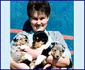 Sveta and puppies Ch - 1998